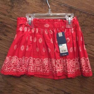 NWT Bandana skirt